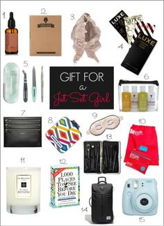 Holiday Gift Guide: Jet Set Girl