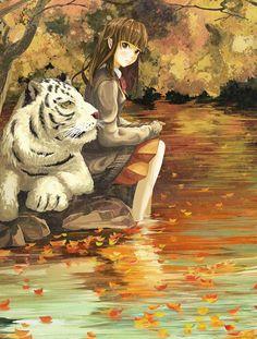 「白秋」/「げみ」のイラスト [pixiv] (via http://www.pixiv.net/member_illust.php?mode=medium_id=32132382 ) #anime #illustration