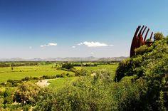 Vinícolas da América do Sul. Foto: Casa Lapostolle, Valle de Colchagua, Chile.