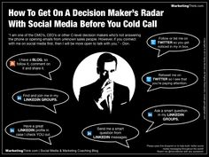 Finally - Some B2B Social Marketing advice that makes sense. How To Cold Call Don Draper Like A Social Selling Mad Man