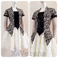 Kebaya Lace, Batik Kebaya, Kebaya Dress, Batik Blazer, Blouse Batik, Batik Dress, Batik Fashion, Hijab Fashion, Fashion Outfits