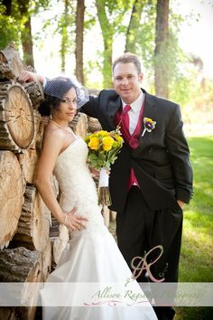 Outdoor Durango Wedding Photo | Brittany & Chads Wedding by Allison Ragsdale Photography----my beautiful sister..oh and chaddo