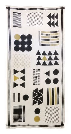 The 'Sampler' scarf by Skinny laMinx was skillfully hand printed with traditional hand carved wooden blocks and vegetable dyes. Limited stock available so head to the Skinny laMinx online shop or visit our store at 201 Bree Street, Cape Town, to grab one before they're gone.