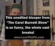 "This Unedited Blooper From ""The Carol Burnett Show"" Is So Funny, The Whole Cast Breaks! Good Morning Facebook, Good Morning Happy Saturday, Good Morning Gif, Good Morning Picture, Good Night Image, Good Morning Greetings, Good Morning Wishes, Good Morning Images, Prayer Pictures"