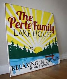 vintage lake signs - Yahoo! Image Search Results