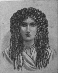 Fig. 1. An Egyptian wig over 3,000 years old, which is marvellous