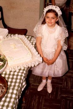 Young Madonna.... First Holy Communion...reminds me of you..ANE :)