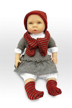 Платье вязанное на ребёнка 145