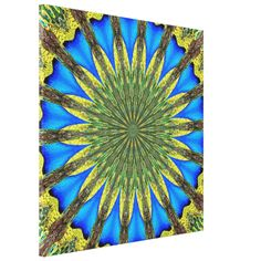 #Peacocks #Feathers #Kaleidoscope 3 Gallery Wrap Canvas...#art  #artwork  #prints  #posters  #RoseSantuciSofranko #Artists4God  #Artist4God  #InteriorDecoration  #InteriorDecorating  #home #InteriorDesign  #Zazzle  #homedecor   #wrappedcanvas  #custom  #customizable #abstacts #birds #animals #mandalas #blues #golds #greens #yellows