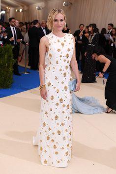 Met Gala 2017 Red Carpet Live: Diane Kruger in Prada