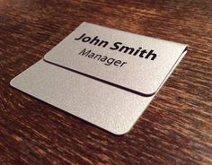 Pocket insert name badge in Business, Office & Industrial, Printing & Graphic Arts, Sign-Making