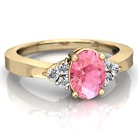 pink_sapphire timeless rings