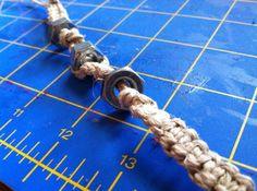 Unisex hemp fidget stim spinner bracelet by TinxTreasures on Etsy, $17.00