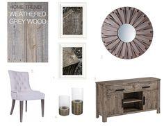 Grey stain... October's living room furniture overhaul.
