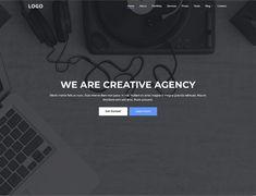 25+ Creative Digital Agency Website Templates – Free & Premium