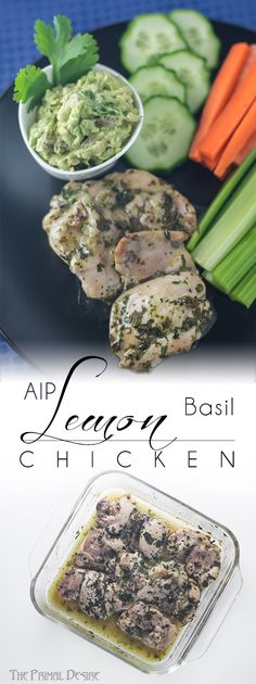 Paleo Recipes, Real Food Recipes, Lemon Basil Chicken, Nightshade Free Recipes, Aip Recipe, Unprocessed Food, How To Eat Paleo, Food Dishes, Main Dishes
