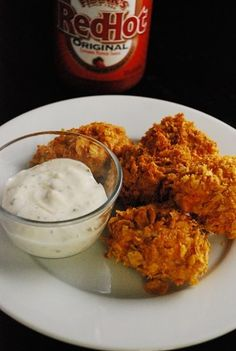 Weight Watcher's Buffalo Chicken Bites. Seriously delicious and only 3 pts for 5!