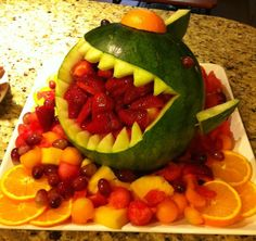 Shark Fruit tray (pic)