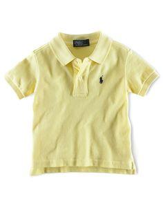 Polo Ralph Lauren Baby Boy Pique Short Sleeve Polo Shirt