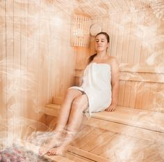 Soothe your body with the magical warmth of steam bath.