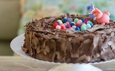 Torta de brigadeiro para a Páscoa -  Leckerhaus (Foto: Divulgao / Marcelo Donadussi )
