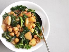 How to Make Easy Apple Chickpea Hash