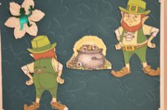 Pot of Gold. Sells for 6.49. Sold separately is the Leprechaun front and back. Made by by Art Impressions. Rubber Stamps.You can purchase these from my ebay store: Pat's Rubber Stamps & Scrapbooks, Click on the picture here to see the listing , or call me 423-357-4334 with order, . We take PayPal. You get FREE SHIPPING ON PHONE ORDERS of $30.00 or more. Use my search engine to find all items you are interested in. If this shows sold I have more in my ebay store.