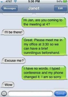 Strictly business. | 35 Of The Most Concerning Autocorrect Fails Of All Time