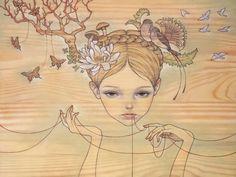 Marcia Batoni - Artes Visuais: *Audrey Kawasaki
