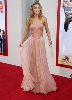 Delicate pink gown