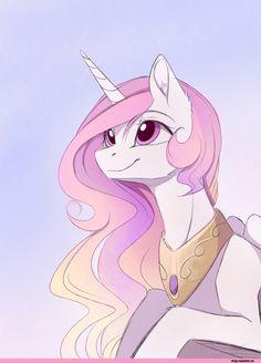 mlp art,my little pony,Мой маленький пони,фэндомы,Princess Celestia,Принцесса Селестия,royal,magnaluna