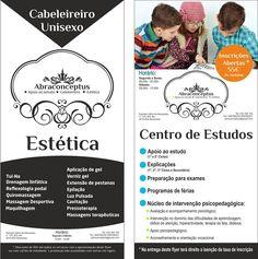 ABRACONCEPTUS Cabeleireiro/Estética/Centro de Estudos Estrada Velha de Abraveses, tel: 232394100