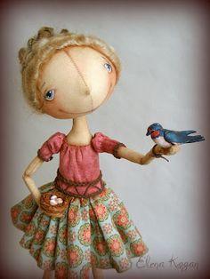 Elena Kogan's new doll