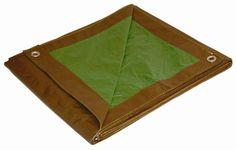 12' x 16' Dry Top Brown/Green Reversible Full Size 7-mil Poly Tarp item #112160 DRY TOP http://smile.amazon.com/dp/B0002Z3NPC/ref=cm_sw_r_pi_dp_gcTBub13JV7RF