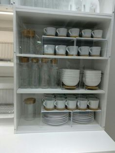 creative kitchen cabinet organization and tips ideas to copy as soon as possible . creative kitchen cabinet organization and tips ideas to copy as soon as possible . Clever Kitchen Storage, Kitchen Organization Pantry, Home Organisation, Dishes Organization, Organization Ideas, Clever Kitchen Ideas, Organizing Tips, Bathroom Organization, Organizing Ideas For Kitchen
