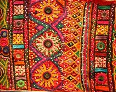 colorful Kutchi embroidery India..lovely!