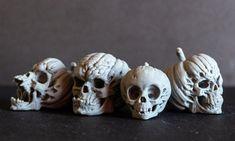 ArtStation - Evil Pumpkin Skulls, Arminas Didziokas Zombie Halloween Decorations, Halloween Ideas, Evil Pumpkin, Zbrush, Skulls, Sculpting, 3d Printing, Objects, Archetypes