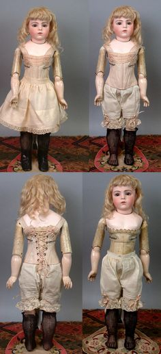 """Stunning Somber 22"""" Bebe Bru Jeune Excellent Condition~ Outstanding from kathylibratysantiques on Ruby Lane"""
