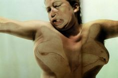 Jenny Saville x Glen Luchford 'closed-contact'