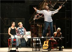 RENT... Saw the Off Broadway production in New York 3 times, twice with Anthony Rapp and Adam Pascal (The original Mark and Roger)!