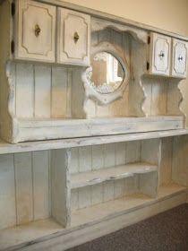 Mistledoe: Faux Antiquing: How to Antique Furniture
