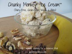 Dairy Free Chunky Monkey Ice Cream