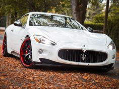Maserati GranTurismo; what a beauty.