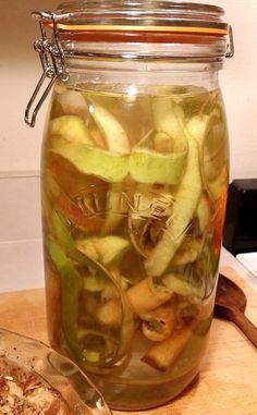 Apple Scrap Vinegar | The Zero-Waste Chef