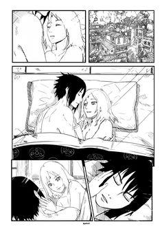 sasusaku.... kyyaaa >w< Sasuke Uchiha Sakura Haruno, Naruto Fan Art, Sakura And Sasuke, Naruto Shippuden, What Is Anime, Sasuhina, Naruto Series, Manga Pages, Anime Couples