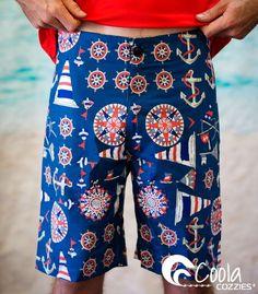 Coola Cozzies men's board shorts sizes L to 4XL. #swimwear #mensswimwear #swimming  #boardshorts