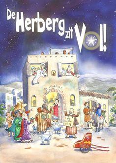 Kerstmusical: De herberg zit vol! Geruchten over een geboren koningskind zorgen voor ophef in de overvolle herberg. #kerstmusical #kerst #musical #onderwijs