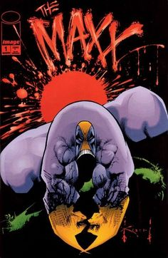 The Maxx #1, illustrated by Sam Kieth. - awesome comic book, one of my favourite artists