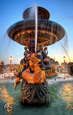 Fontaine des Mers ~ Paris, France