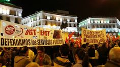 REDACCIÓN SINDICAL MADRID: Trabajador@s y usuari@s de EMT protestan contra la...